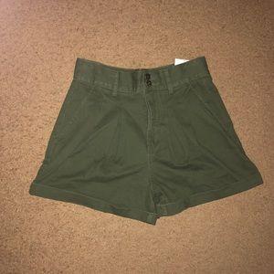 Forever 21 khaki shorts- NWT